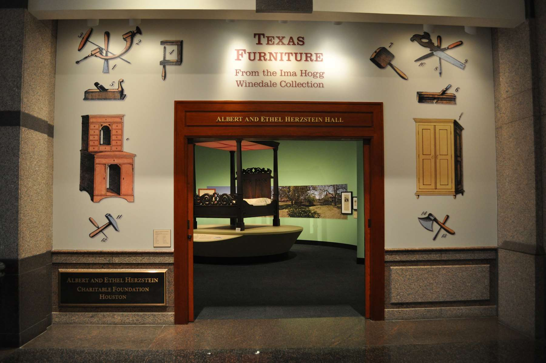 Texas Furniture From The Ima Hogg Winedale Collection Drew